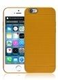 Microsonic Dot Style Silikon iPhone  6 4.7'' Kılıf Sarı Renkli
